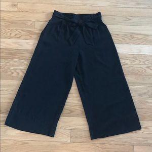 Zara Black culottes